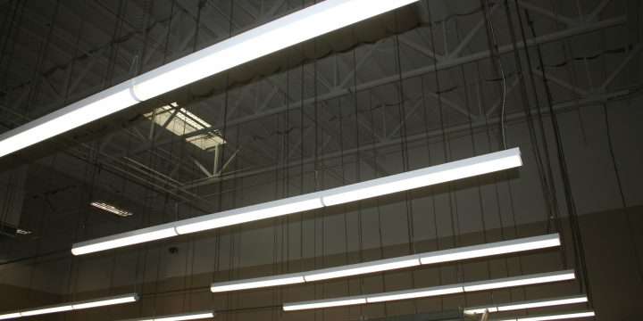 LED lighting brightens San Diego warehouse